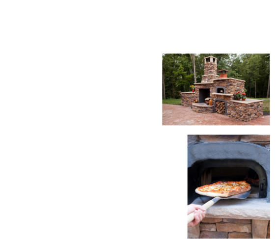 how to build a pizza bread outdoor oven