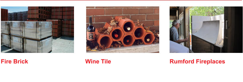 Rumford Fireplaces   Wine Tile   Fire Brick