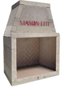 Masonry Fireplace Kits Prefabricated Fireplaces Masonlite