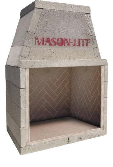 Masonry Fireplace Kits Prefabricated Fireplaces Masonlite Sandkuhl