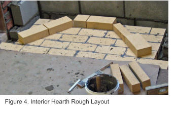 Figure 4. Interior Hearth Rough Layout