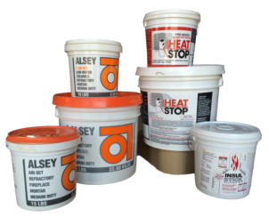 Refractory Mortar and Fireplace Mortar, Refractory Castable