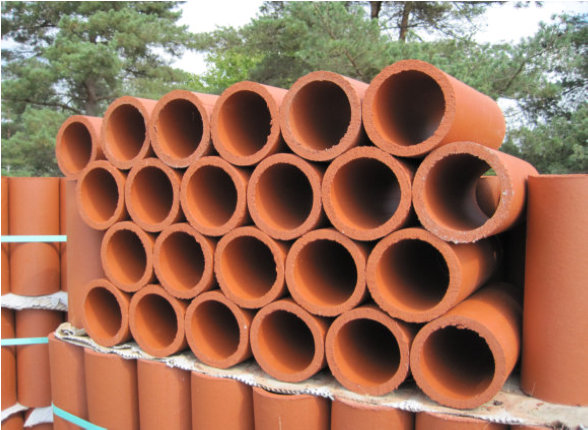 Clay Drainage Pipes, Field Tile, Sump Pits & Clay Roof Vent