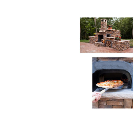 Outdoor Pizza Oven Kit And Bread Oven